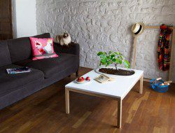 Table with Planter by Bellila - design milk