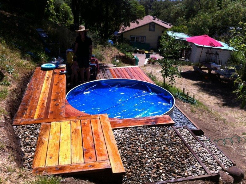 Makeshift Swimming Pools – The Owner-Builder Network