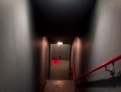 The entry stairs - ICBM Missile Silo - Entry stairs