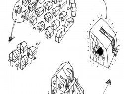 Student Housing by Tengbom - Site Plan Drawing