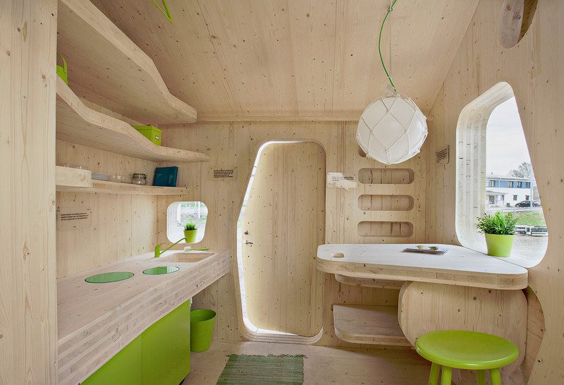 Low impact student accommodation by Swedish firm Tengbom Architects