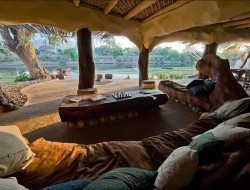 Chongwe River House - Living area