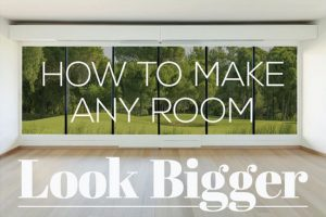 How to Make a Room Look Larger