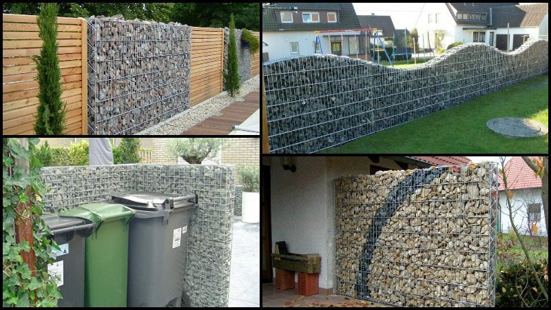 Diy Gabion Rock Walls Without Concrete The Owner Builder