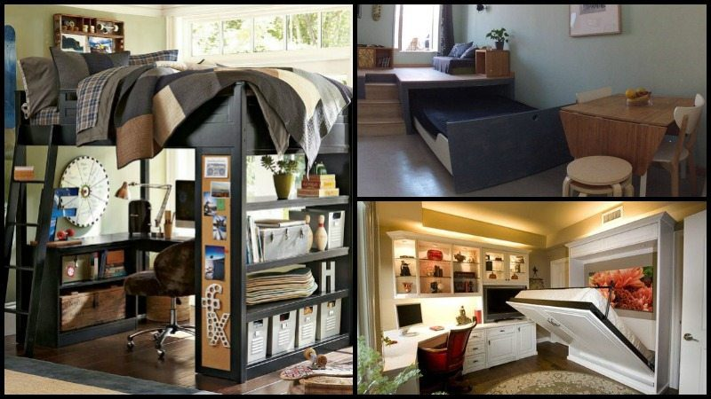 Maximize Small Bedroom Space
