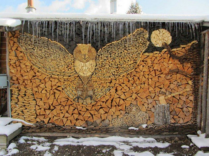 The art of wood stacking