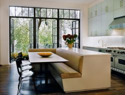 Kitchen Island With Built-in Seating