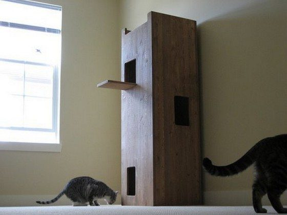 DIY Cat Castle