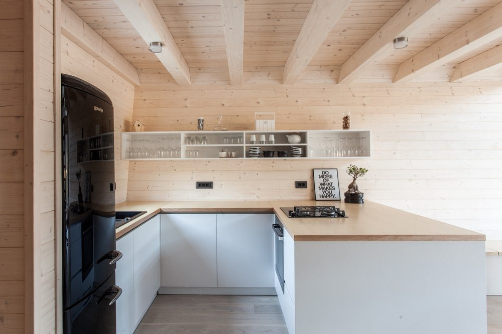 A compact house with all the necessities for day-to-day living.