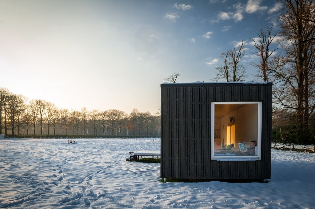 Living up to its name, Slow Cabins allow you to slow down and reconnect with nature.