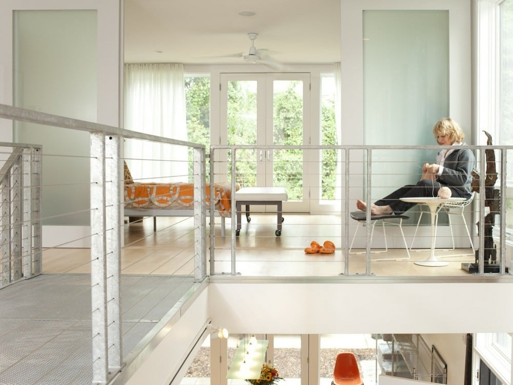 The interiors are bright and airy, just the way a Retreat House should be.