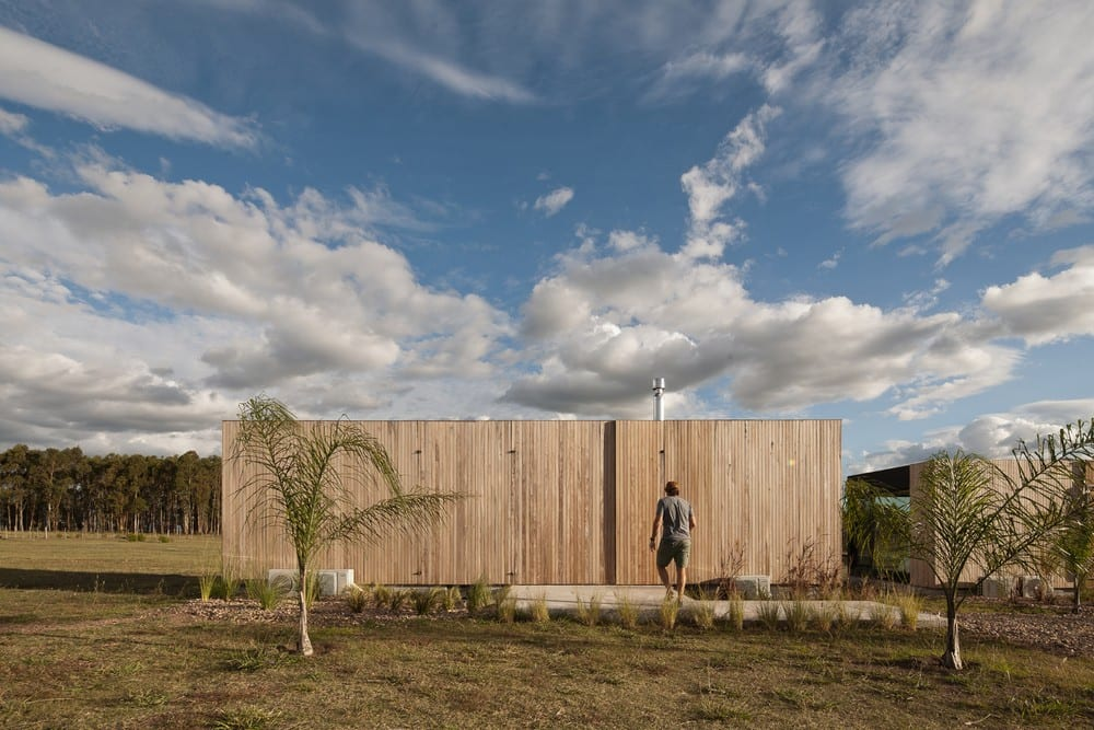REPII House believes that the natural landscape shouldn't be disturbed in order to add space.