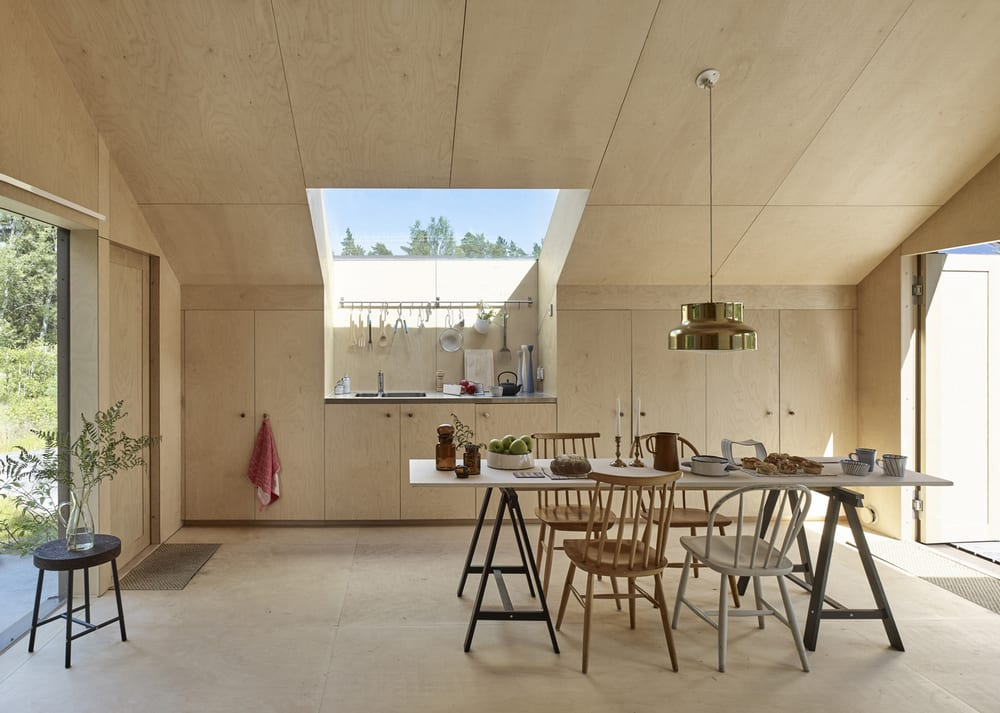 The interiors follow the minimalist path, concentrating mainly on the bare essentials.