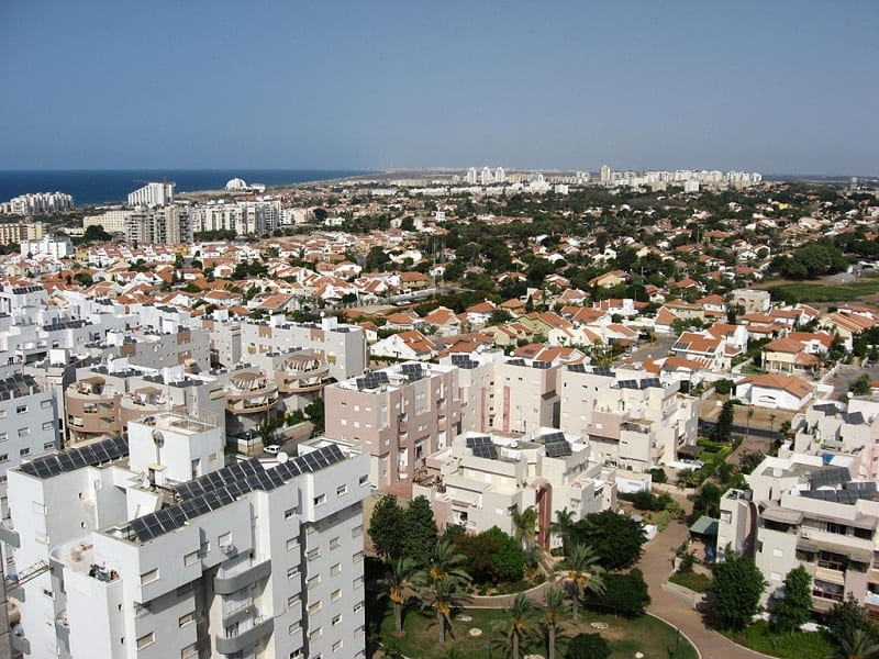 Gaza sewage flows up the coast, where it goes into the tunnels of the desalination plant in Ashkelon.