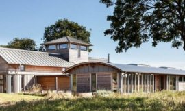 Allies Farmhouse – from WWII military base to a sustainable, family home